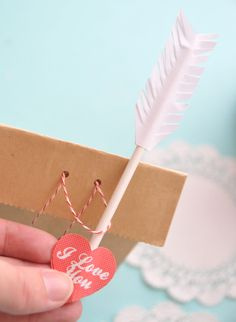 a how to for gifting bags: just how to punch the holes and place the string through