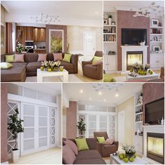 Living Room Color Scheme Ideas In Pastel Hue And Earth Tone 1