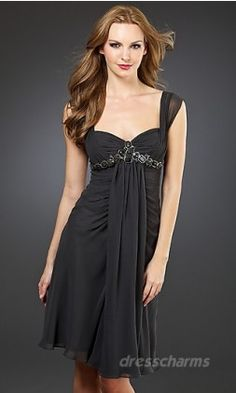 Pretty bridesmaids dress- DIfferent color but I love the style