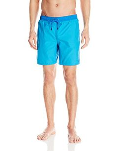 Introducing Mr Swim Mens Contrast Waistband with Embroidery Swim Trunk Turquoise Medium. Great product and follow us for more updates!