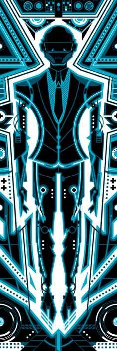 Daft Punk - Tron 2 by ron-guyatt.deviantart.com on @deviantART
