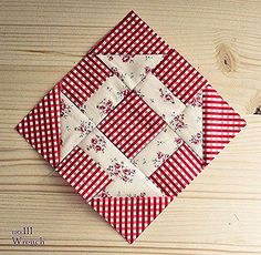 Quilt square patterns - Farmer's Wife QAL Week 3 – Quilt square patterns Quilt Square Patterns, Square Quilt, Pattern Blocks, Mini Quilts, Easy Quilts, Wool Quilts, Patch Quilt, Quilt Blocks, Quilting Projects
