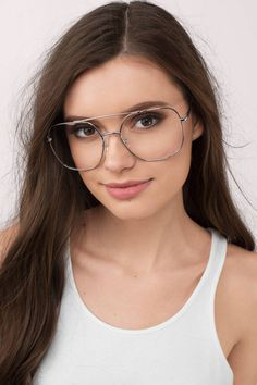 63f8d0a30da You need the The Retro Oversized Square Aviator Glasses. Pair with jeans  and an easy