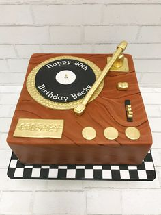 For the record, this cake request was music to my ears!
