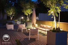 #landscape #architecture #garden #terrace #flowerpot #night #light