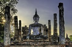 Large Buddha by Maria Coulson