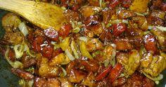 Χοιρινή τηγανιά με λουκάνικο αλλιώς! Cookbook Recipes, Pork Recipes, Cooking Recipes, Healthy Recipes, Food Network Recipes, Food Processor Recipes, Greek Cooking, True Food, Kitchens