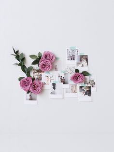 Polaroid Style Prints From Your Beautiful Photos bilder Retro Prints Polaroid Decoration, Polaroid Display, Polaroid Pictures Display, Polaroids On Wall, Polaroid Ideas, Polaroid Photos, Polaroid Wand, Retro Home Decor, Diy Home Decor