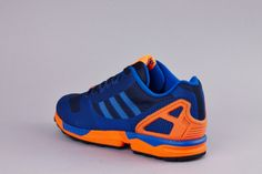 adidas Originals ZX Flux Weave – Dark Blue / Orange