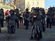 Helmikuu on karnevaalikuu ja Sveitsissä järjestetään useita karnevaaleja!
