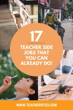 17 Teacher Side Jobs that YOU can do to earn EXTRA CASH! The article covers 17 Simple and Effective ways to get some more money into you're pocket! First Year Teachers, New Teachers, Extra Cash, Extra Money, Health Teacher, Teaching Secondary, Student Behavior, Good Grades, Teacher Resources