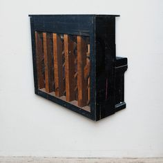 Ron van der Ende Mum (Grand Pianola Piece) 2011  bas-relief in salvaged wood 122 x 132 x 10cm (private collection NY NY)