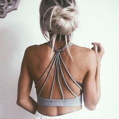 Strappy backs all day long.