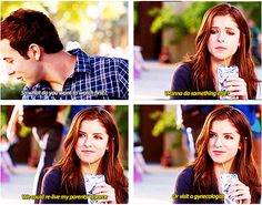 """[SET OF GIFS] """"What, do you not like movies or something?"""" Pitch Perfect"""