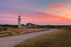 The Highland Light, also known as Cape Cod Light is an active lighthouse on the Cape Cod National Seashore in North Truro, Massachusetts. It is the oldest and tallest lighthouse on Cape Cod.