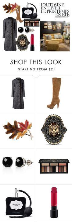 """""""Vogue Paris"""" by de-garbelini ❤ liked on Polyvore featuring Dolce&Gabbana, Prada, Anne Klein, Gucci, Belk & Co., Kat Von D, Victoria's Secret, MAC Cosmetics and Été Swim"""