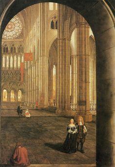 Samuel Van Hoogstraten, Interior of Westminster Abbey, London