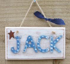 KR Creatives: Handmade Signs. Personalised wooden name signs. Create your own name sign, choose from a range of colours. Item is perfect for a loving gift, new borns a treat for your self. Item will be 100% handmade by KR Creatives with love and care. 100% handmade in Britain. £12.00