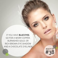 Hey blue eyes! Try these eyeshadow hues to make your eyes pop! https://multibra.in/95ckw