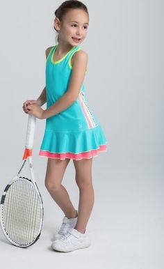 Let Your Kids build character through #Tennis #JuniorTennis #TennisClothing #Sofibella#TokyoCollection