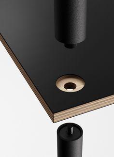 tom-bril: Studio Shelf System by Thomas Feichtner Wooden Furniture, Furniture Plans, Furniture Design, Module Design, Joinery Details, Shelf System, Wood Joints, Wood Design, Woodworking Projects Plans