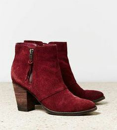 Gorgeous deep red boots