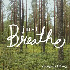 Stop what you are doing and take 10 deep, long breaths. http://www.changetochill.com/chillerchallenge/