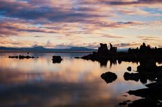 """""""Mon Rise"""": Mono Lake CA #fujifilmx_us FUJIFILM X Series US #visitcalifornia  Sunrise at Mono Lake. On a morning where the color lasted all of about 5 minutes... and made facing down the darkness worthwhile.   Specs:  Fujifilm X-T2 16-55mm lens Really Right Stuff tripod/ballhead LucrOit filter holder Formatt Hitech Filters Firecrest 1.2 ND filter."""
