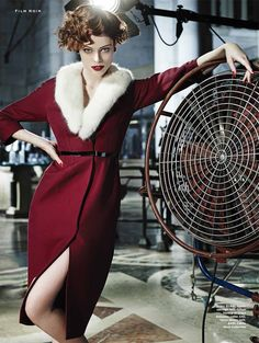 Coco Rocha in Stylist Magazine's September issue. Photo: Joshua Jordan