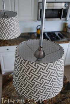 diy pendant lights from the top