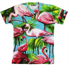 Flamingo Shirt - 1991 Inc. Flamingo Shirt, Sexy Shirts, Fashion Killa, Women's Fashion, Stylish Outfits, Fancy, My Style, Tees, Polyvore