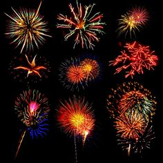 Fireworks! whos ready for the ball to drop tonight???? :)