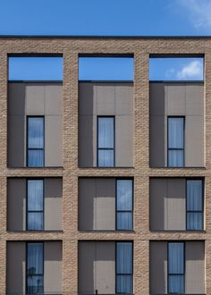 We are Dexter Moren Associates, award-winning architects and interior designers in London. Specialists in hotel, hospitality & residential design. London Docklands, Hotel Architecture, Hotel Branding, Glass Facades, Brick, Multi Story Building, Dexter, Interior Design, Places