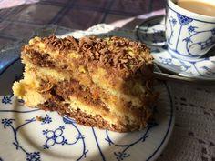 Lady Goldenglow-tærte Banana Bread, French Toast, Baking, Breakfast, Desserts, Food, Morning Coffee, Deserts, Bakken