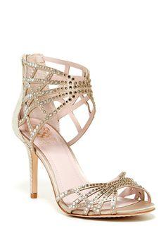 perfect wedding shoe! Wari Embellished Sandal on HauteLook
