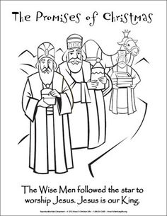 bible coloring pages wise men - photo#28