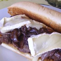 Roast Beef Subs with Balsamic Onions and Brie Cheese Allrecipes.com