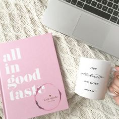 """I wish that my every day looked like this because how awesome would it be to curl up under a blanket and work on pretty things all day! We're still doing that full time grind in the office but this is definitely one of our #goals for the future! Happy #makewavesmonday to all of you creatives and in case you're searching for the perfect gifts for your in-laws, we have just the thing on our blog! #risingtidesociety"""