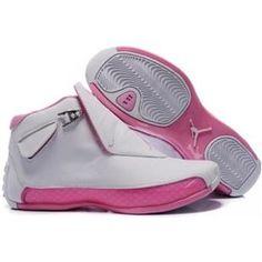 reputable site cd8a7 3b5bf www.asneakers4u.com 313038 162 Air Jordan 18 Original OG White Women Pink  A24015
