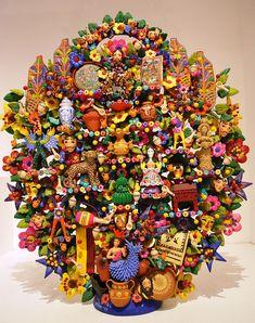 Árbol de la Vida. TreeLifeCraftsMAPDF - Museo de Arte Popular, Mexico City - Wikimedia Commons
