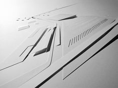 Relief model I made for Zaha Hadid Architect Practice.