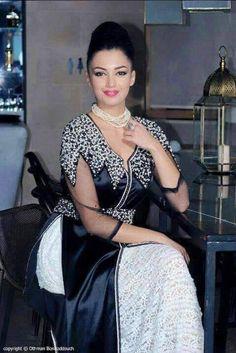 قفطان جزائري عصري Algerian Kaftan Luxury