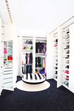 Lisa Perry's closet