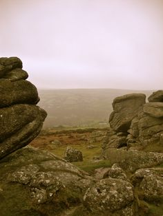 Dartmoor, Devon, and that infamous Dartmoor fog, England. Devon England, England And Scotland, English Romance, Homes England, Dartmoor National Park, Rule Britannia, English Countryside, Queen, British Isles