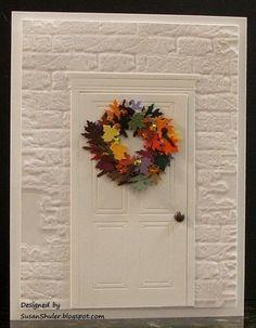 Behind the Scenes - Straits Stamping Studio: Autumn Wreath