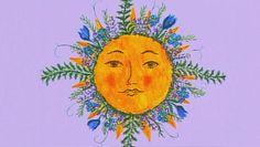 "Sun art - Here comes the sun! ""Sunday Morning"" sun art - Pictures - CBS News Kunst Inspo, Art Inspo, Art And Illustration, Animal Illustrations, Illustrations Posters, Mali Mali, Sun Drawing, Sun Art, All Nature"