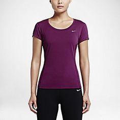 Nike Dri-FIT Contour Women's Running Shirt. Nike Store