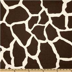 Premier Prints Giraffe Java  Item Number: UR-374 Our Price: $7.48 per Yard