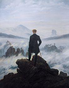 """Caspar David Friedrichs """"Der Wanderer über dem Nebelmeer"""""""