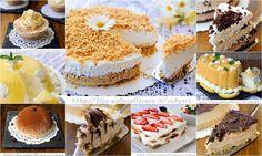 Dolci estivi senza forno, ricette facili, torte gelato, mini cheesecake, tortine fredde, dolcetti veloci, dolci da merenda, feste, buffet, cioccolato, frutta